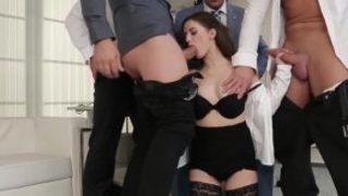 نيك مايا خليفة من زب اسمر من اثنين زنوج واحلي Threesome Hd فيديو ...